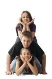 Children pileup