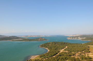 Panoramic view of Ayvalik Turkey