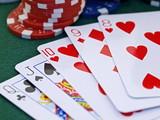 poker spiel set,chips,karten,casino games,straight,strasse poster
