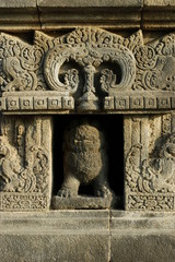 Carving and Borobudur Temple Indonesia