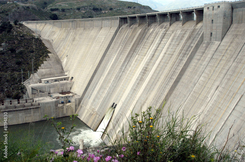 Fotobehang Dam PRESA DE RULES 01