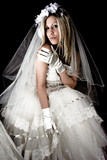 bride in dark