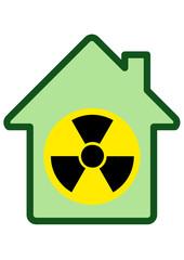 La radiation du batiment (détouré)