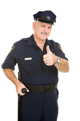 Police Officer ThumbsUp