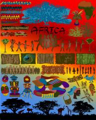 African Designs Illustration