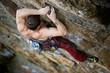 Rock climbing Male