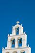 Cycladic church bell tower