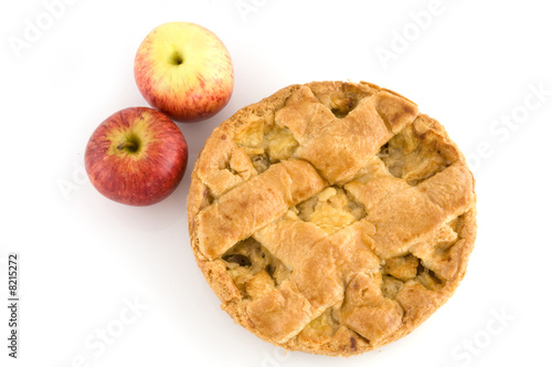fancy apple pie