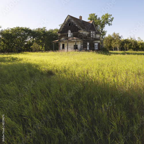 Abandoned farm house.