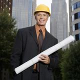 Construction supervisor. poster