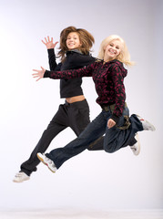 aerobic dual jumping