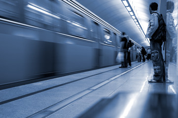 Subway. Underground station