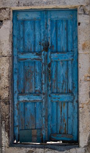 Old island door