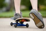 Fototapety Boy Skateboarding