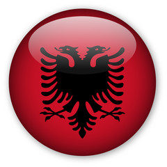 Albania flag button