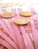 Banconote e monete poster