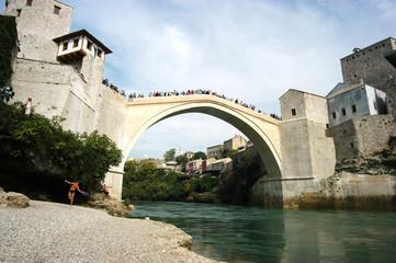 Fiume Neretva a Mostar - Bih
