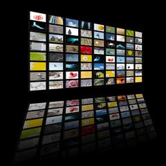 Pannelli TV, LCD multischermo
