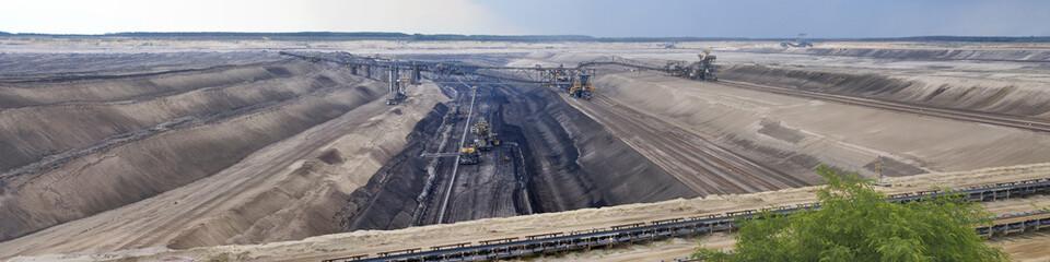 Tagebau, Panorama