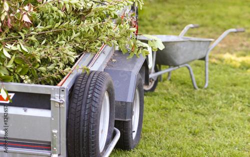 remorque de jardinage - 8242657