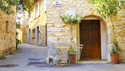 Mougins Village, France.