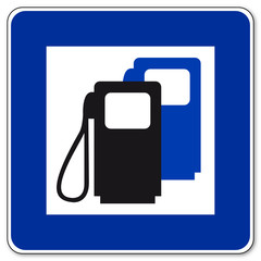 Tankstelle - Gas