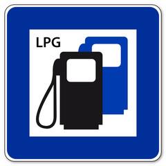 LPG - Tankstelle