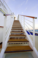 Stairway on Cruise Ship