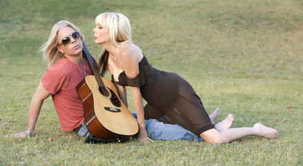 Rock and Roll Couple