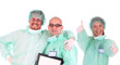 successful healthcare workers