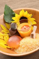 sunflower bath