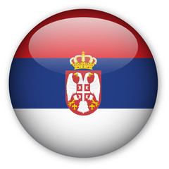 Serbian flag button