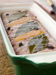 Pate Campagne in a Terrine Mould