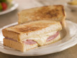 Cheese and Ham toasted sandwich