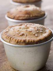 Pork and Pistachio Pies