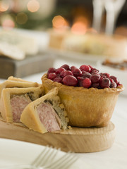 Pork,Turkey and Stuffing Pie