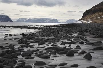 Iceland, Abandoned Hesteyri, Westfjords