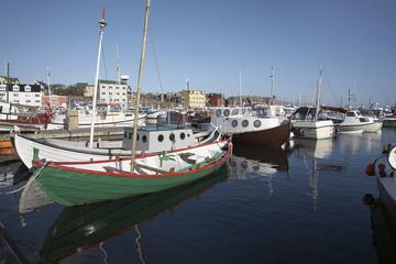 Faroe Islands, Thorshavn, harbour