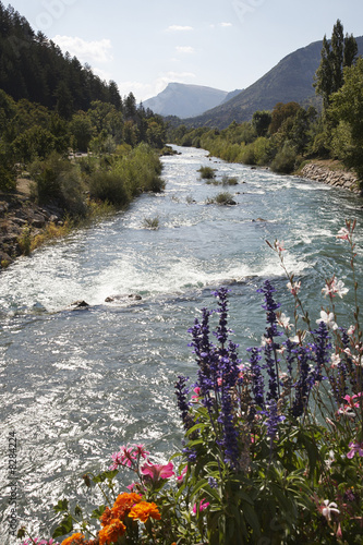 France, Castellane, Provence, mountain stream