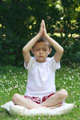 schoolboy and joga