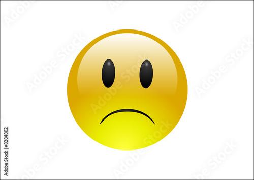 Aqua Emoticons - Sad