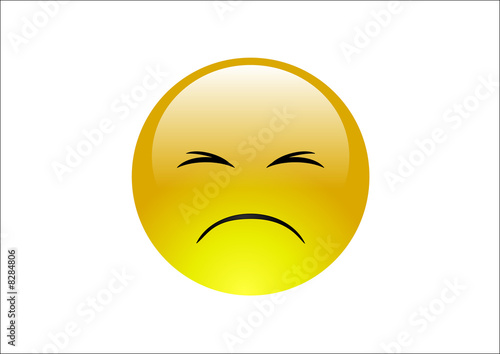 Aqua Emoticons - Sad 2