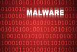 Malware Abstract Background poster