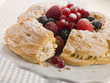 Paris Brest with Mixed Berries and Hazelnuts