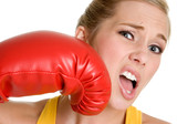 Punching poster