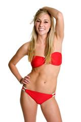 Teenager in Bikini