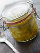 Piccalilli in a Kilner Jar