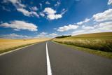 Fototapety route déserte