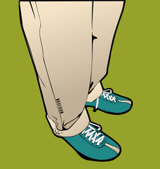 Men's legs