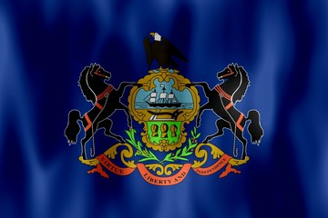 pennsylvania flag drapeau pennsylvanie